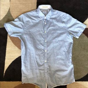 Ted Baker Short Sleeve Button up Shirt